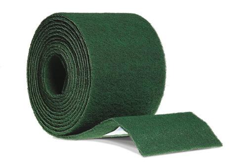 Rouleau de fibre vert
